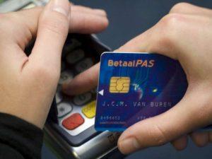 netalen met creditcard wordt beloond