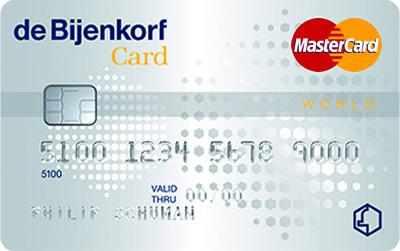 Bijenkorf creditcard aanvragen