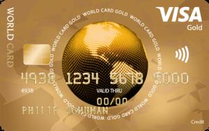 VISA World Creditcard Gold