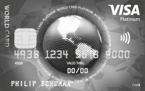 VISA World Platinum creditcard review